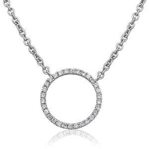 Beautiful Circle Of Life diamond pendant