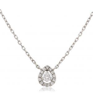 Very cute diamond pendant