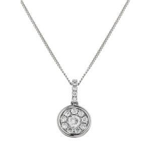 Very cute diamond gold pendant