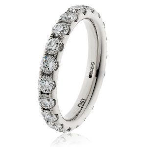 Absolutely stunning full eternity diamond ring